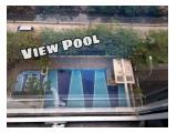 NEGO TIPIS - Jual 2BR Tower Dahlia lantai rendah hadap kolam Bassura City - 495jt all in