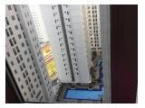 Jual Cepat Apartemen Bassura City Tower F 2BR view pool dekat lift