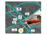 Jual Apartemen Anwa Residence Bintaro - 1 BR - 30 m2 - Selangkah Dengan Stasiun, Tol & Mall