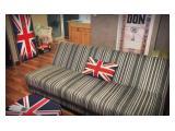Jual / Sewa Apartement Pancoran Riverside - 2BR Modifikasi Furnished British Style