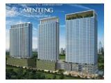 Dijual Apartment Menteng Park 1BR / 2BR Full-Furnish.