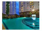 Jual/Sewa Apartemen The Green Pramuka City – Studio Tower Faggio Murah Unfurnished - Pemilik Langsung