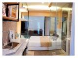 Dijual BU!!! Over kredit. Apartemen PIK 2 Tower Asahikawa- Studio, view laut, lt.6, Hoek.