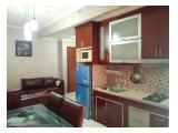 Dijual Apartemen Sudirman Park 2 Bedroom Full Furnished Paling MURAH BU