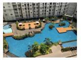 Jual cepat 3 bedroom Unfurnish Apartemen Royal Mediterania Garden, Private Lift, Lantai tengah, view kolam