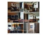 Dijual / Disewakan Apartemen Pacific Place SCBD Sudirman - 500 m2 dan 1000 m2 Furnished / Semi Furnished