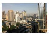 Tamansari Semanggi, tower B, studio 34m2, Furnished, lantai tinggi.