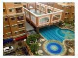 Swimming pool and basket ball court