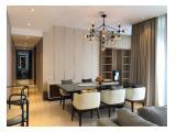 Dijual / Disewakan Apartemen Casa Domaine (Shangri-La Hotel Area) – 2 BR & 3 BR Brand New Luxury Furnished