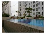 Apartemen Bassura City atas mall design LUX perabot lengkap type 2BR 34sqm