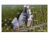 DIJUAL Apartemen Trans Park Cibubur TOWER A 2 BEDROOM + 2 BATHROOM