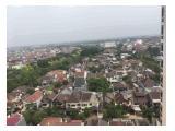View dari teras menghadap kota/city yang mewah