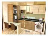 Disewa / Dijual cepat BU Apartemen Menteng Park / Tipe Studio / 2BR / Fully Furnished