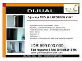 jual Apartemen TIFOLIA 2 dan 3 kamar
