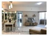 Di jual dan disewakan Apartemen Sudirman Tower Condominiun Semanggi- 3 Bdr Cozy & Brand New !