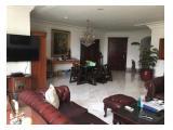 Jual Apartemen Permata Hijau (Gedung Putih) 3+1 Bedroom Desain Klasik Kolonial Sudah Renovasi