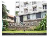 Jual 2 Unit Apartemen Tamansari Sudirman Executive Residence - Best Location, Great Deal