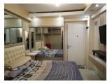 Studio furnished Bassura City Tower Alamanda perabot lengkap