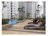 Dijual murah apartemen Bassura City tipe Studio Tower F Lt.11 view Pool,posisi mantap, guarantee tersewa unfurnish ataupun furnishter,dijamin untung, cepat dia dapat!