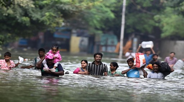 Rains in Chennai