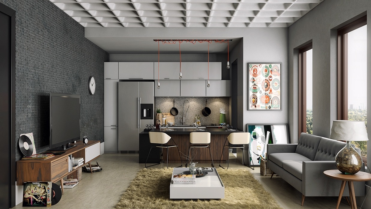apartemen minimalist