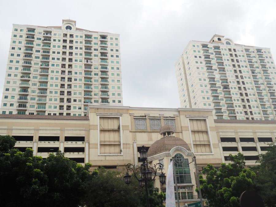 The-Bellezza-Apartments-Jakarta-From-Across-the-Street