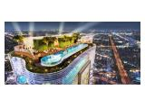 Infinite Pool, Outdoor Gym & Resto at Roof Top