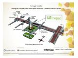 Apartemen Foresque Residence Dijual - 1 BR Unfurnished - Early Bird Promo 60 x Installment