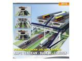 Dilewati jalan tol layang transjakarta ciledug - Blok M