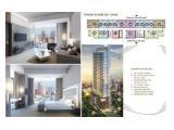 Jual Apartemen Sudirman Hill, Lokasi CBD Jakarta Pusat, Dekat Stasiun MRT, Premium dan Mewah