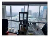 Jual cepat Apartemen Citylofts luas 134sqm (tipe London), Fully Furnished Office. View Pavilion dan Istana Sahid. Hadap Utara dan Selatan