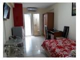 Jual Apartemen Green Palace Kalibata City - Studio Type Besar Fully Furnished - Lantai Rendah - Pool View
