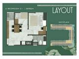 Jual / Over Kredit Apartemen Tokyo Riverside PIK 2 – 2 Bedrooms 38 m2