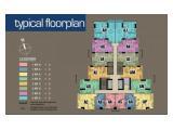Jual Condominium MURAH di SEA VIEW Baywalk Mall type 2 Br 77 m2 view kolam renang - Jakarta Utara