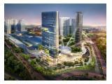 For Sale, luxury studio apartment in Tanglin tower above Pakuwon Mall Surabaya
