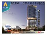 Anwa residence@bintaro hanya selangkah ke stasiun kereta api,toll dan mall - 1 / 2 / 3 BR Unfurnished