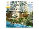 Dijual di bawah harga apartemen grand dharmahusada lagoon Surabaya - 1BR Unfurnished