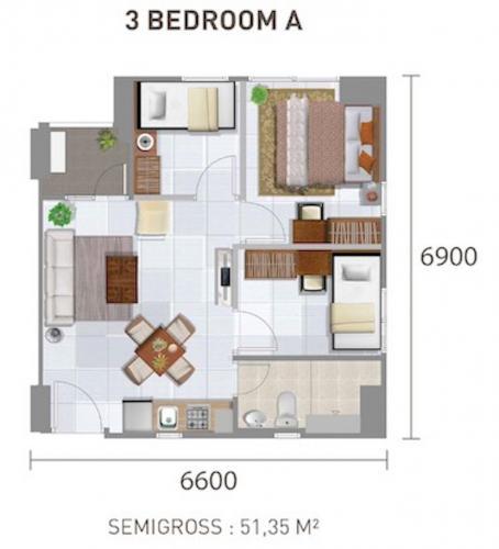 Jual Jarrdin Apartemen Cihampelas: Over+kredit+apartemen+city+park