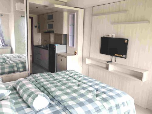 Jual Apartment Tamansari Mahogany Karawang Barat Studio Full Furnished 53547