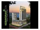 Jual Studio 27m, 2br 45m, 55m, Penthouse 145m harga terjangkau