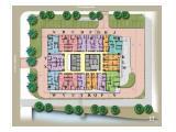 Floor Plan (Unit H Sisi Atas Sebelah Kanan berwarna Orange)
