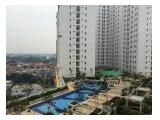 Dijual murah unit Apartemen bassura city type studo unfurnish E.27 Rp.315jt, F.17 Rp.330jt All in