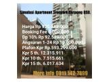 Dijual Apartement Treepark Serpong - Furnished / Semi Furnished