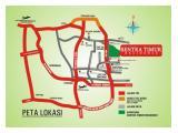 Map ke Apartemen Sentra timur