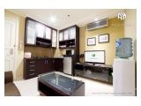 Dijual Apartemen The Boulevard Thamrin Jakarta Pusat – 1 BR 45 m2 Fully Furnished