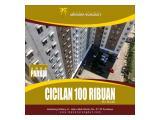Dijual Apartemen Menara Rungkut Surabaya - Dp 10 Juta Pilih Unit Apartment & Cicilan 100 Ribu Perhari