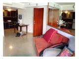 Apartemen Aston Rasuna 3BR Diubah Jadi 2BR Furnished Kuningan Sebelah Taman Rasuna