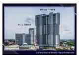 Jual Apartemen Bintaro Plaza Residence Tangerang Selatan - Tower Breeze- Siap Huni, Dekat Stasiun KRL Pondok Ranji