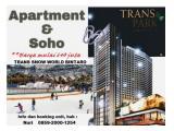 Dijual Studio,2br,3br dan SOHO harga Special discount maksimal