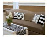 Di jual 1 BR Residence 8 Senopati interior mewah harga murah